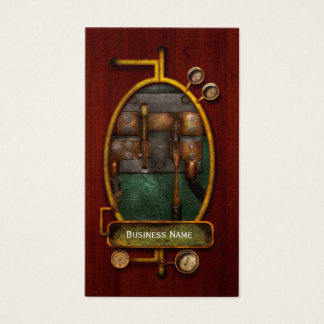 Steampunk - Electrical - Pull the switch Business Card