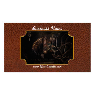 Steampunk - Electrical - Rotary Switch Double-Sided Standard Business Cards (Pack Of 100)