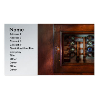 Steampunk - Electrical - The fuse panel Business Cards