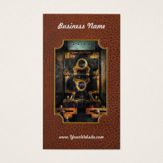 Steampunk - Electrical - The power meter Business Card
