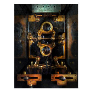 Steampunk - Electrical - The power meter Postcard