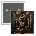 Steampunk - eléctrico - el metro de poder pins