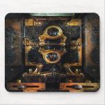 Steampunk - eléctrico - el metro de poder alfombrillas de ratones