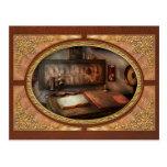 Steampunk - eléctrico - mi trabajo 9 a 5 postal