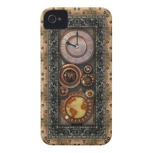 Steampunk Elegance #2 iPhone 4 Case-Mate Cases