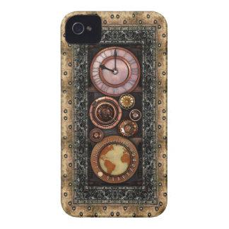 Steampunk Elegant Vintage Timepiece iPhone 4 Cases