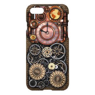 Steampunk Elegant Vintage Timepiece iPhone 7 Case