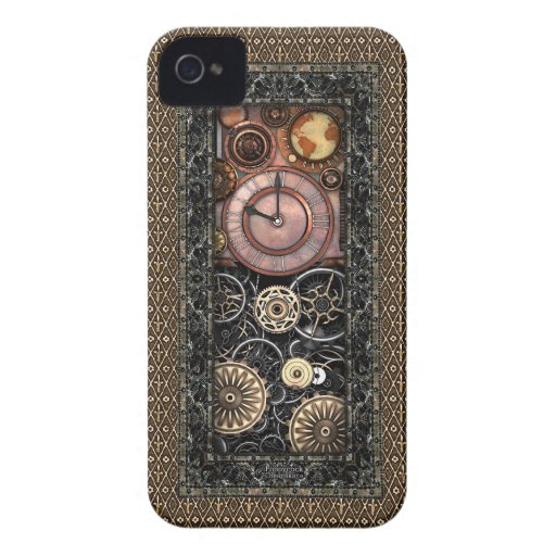 Steampunk elegante #2 Case-Mate iPhone 4 carcasa
