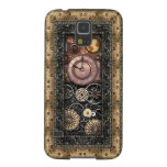Steampunk elegante carcasas de galaxy s5