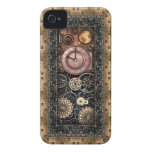 Steampunk elegante Case-Mate iPhone 4 cobertura