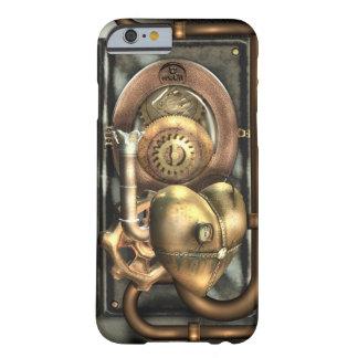 Steampunk en el corazón funda de iPhone 6 barely there