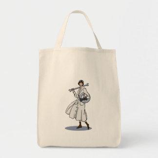 Steampunk Engineer Grocery Tote Bag
