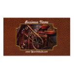 Steampunk - engranaje - correas y ruedas tarjetas de visita