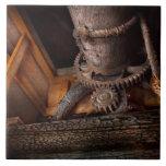Steampunk - engranaje - fuera de servicio tejas  ceramicas