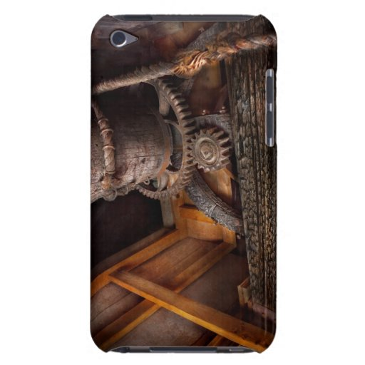 Steampunk - engranaje - fuera de servicio barely there iPod coberturas