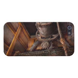 Steampunk - engranaje - fuera de servicio iPhone 5 carcasa