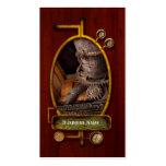 Steampunk - engranaje - fuera de servicio tarjetas personales