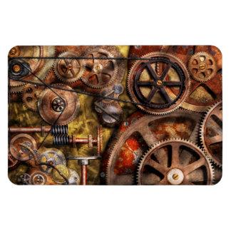 Steampunk - engranajes - funcionamientos internos iman