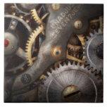 Steampunk - engranajes - horometría azulejos