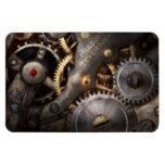 Steampunk - engranajes - horometría imán de vinilo