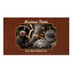 Steampunk - engranajes - horometría plantillas de tarjetas personales