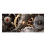 Steampunk - engranajes - horometría plantilla de lona