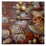 Steampunk - engranajes - ingeniería reversa azulejos