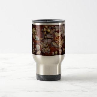 Steampunk - engranajes - ingeniería reversa taza de café