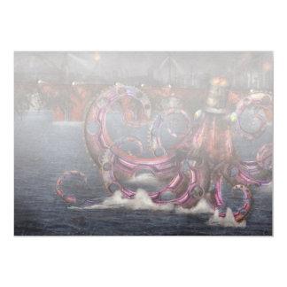 Steampunk - Enteroctopus magnificus roboticus Card