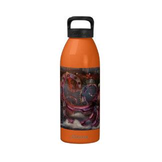 Steampunk - Enteroctopus magnificus roboticus Drinking Bottles