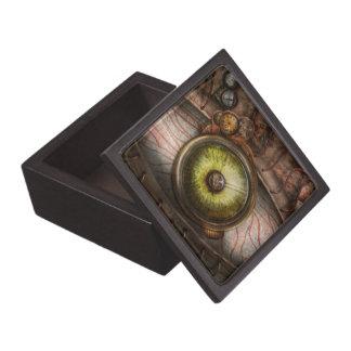 Steampunk - espeluznante - ojo en tecnología caja de recuerdo de calidad