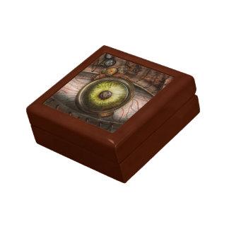 Steampunk - espeluznante - ojo en tecnología caja de regalo