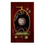 Steampunk - extracto - el principio y el extremo tarjeta de visita
