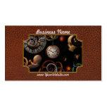 Steampunk - extracto - el principio y el extremo plantilla de tarjeta de visita