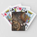 Steampunk - extracto - tiempo es complicado barajas de cartas