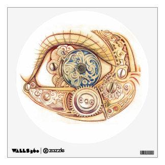 Steampunk Eye on U Wall Decal