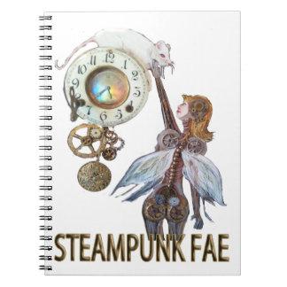 Steampunk Fae Cuaderno