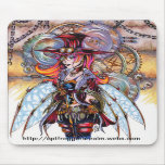 Steampunk Faerie Mouse Pad