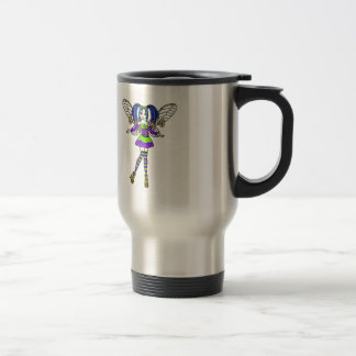Steampunk Faerie Travel Mug