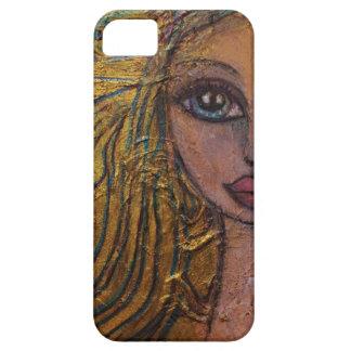 Steampunk Fairy Big Eye Art IPhone Case Metal Gold iPhone 5 Covers