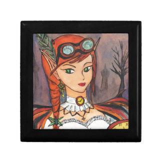 Steampunk Fairy Jewelry Box