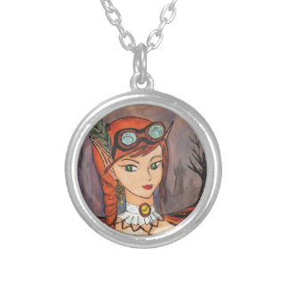 Steampunk Fairy Necklace