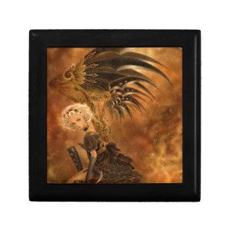 Steampunk Fallen Angel Gift Box