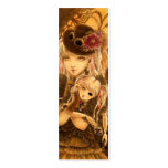 Steampunk Fantasy Bookmark Business Card Template