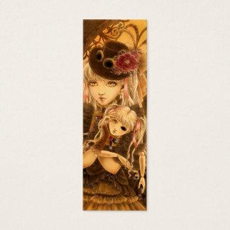 Steampunk Fantasy Bookmark Mini Business Card