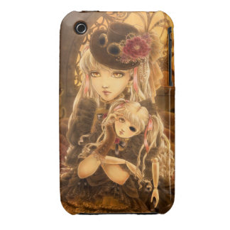 Steampunk Fantasy iPhone 3G 3GS Case iPhone 3 Covers