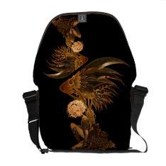 Steampunk Fantasy Messenger Bag at Zazzle