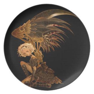 Steampunk Fantasy Plate