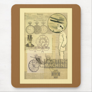 SteamPunk Fighting Machine Mouse Pads