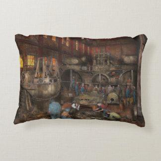 Steampunk - Final inspection 1915 Accent Pillow